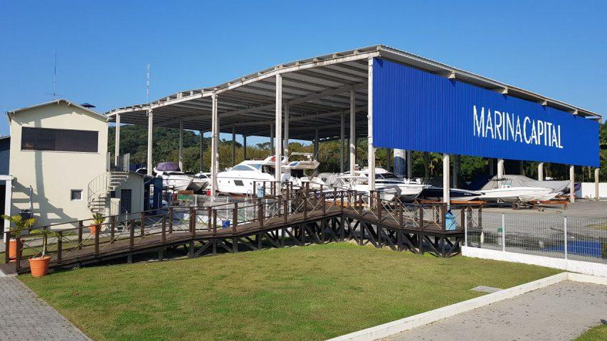 Marina Capital - Visão Deck Seco